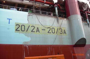 paintshield 2810 peelable coating ship restoration image ii. Black Bedroom Furniture Sets. Home Design Ideas