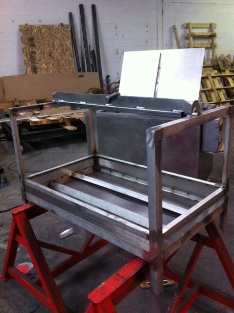 Paint Stripping & Powder Coat Removal Parts Basket