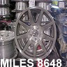 MILES 8648 wheel stripper, Aluminum Wheel Paint & Powder Remover